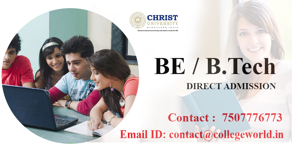 Engineering Direct Admission in Christ University Bangalore through Management Quota