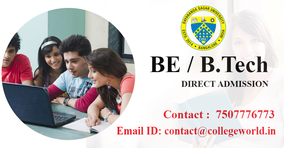 Engineering Direct Admission in Dayananda Sagar University, Bangalore through Management Quota