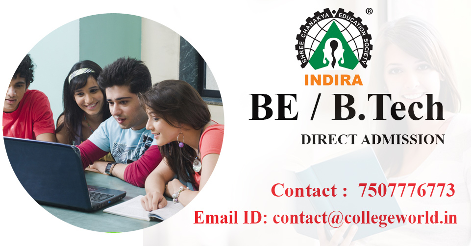 Engineering Direct Admission in Indira College Pune through Management Quota