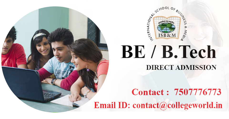 Engineering Direct Admission in ISB&M School of Technology pune through Management Quota