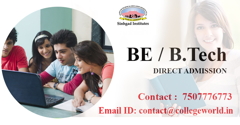 Engineering Direct Admission in Sinhgad Institute of Technology, Pune