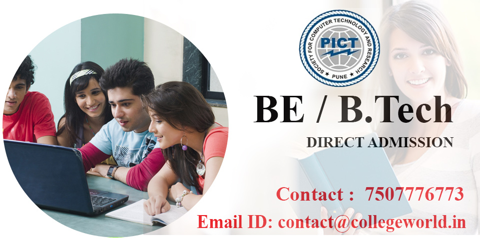 Engineering direct admission in PICT college, Pune through Management Quota