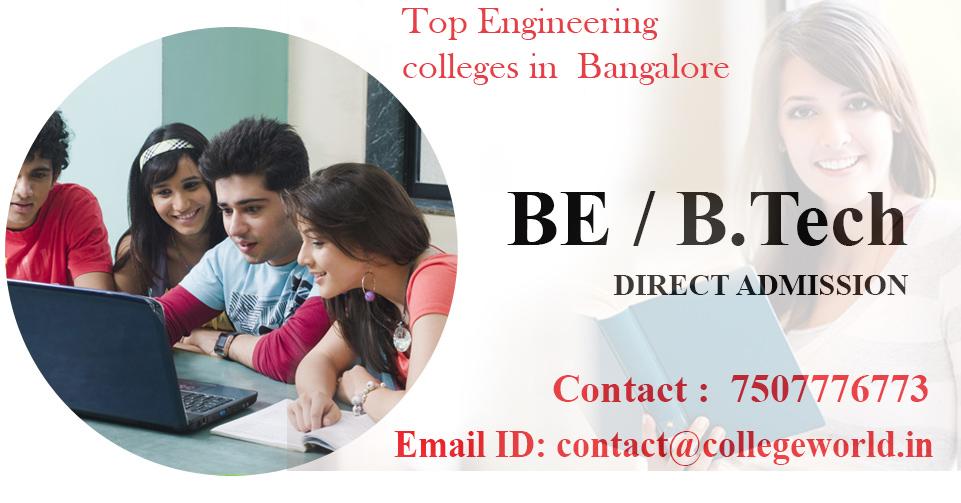 Engineering Direct admission through management quota in top 10 colleges Bangalore
